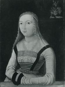 Portret van Anna Beuscherin
