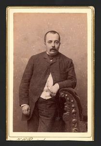 Portret van Johan Christiaan van Haersolte van Haerst (1854-1889)