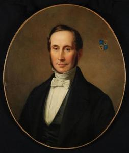 Portret van Adriaan Theodore Prins (1803-1857)