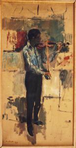 De violist (Lodewijk de Boer)