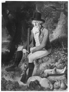Portret van Arnout Johannes Gevers Leuven (1767-1826)