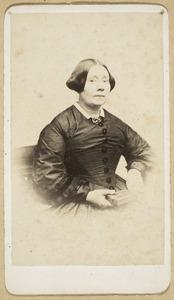 Portret van Anna Bregitta Story van Blokland (1842-1879)