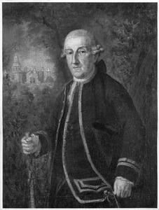 Portret van Willem Quarles de Quarles (1717-1781)