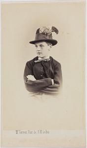 Portret van een jongen(?), mogelijk Otto Johan Willem Carel van Bylandt (1852-1929)