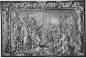 Het afscheid van Marcus Antonius en Cleopatra