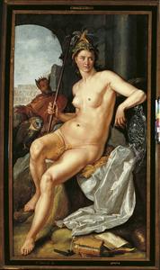 Minerva als personificatie van wijsheid