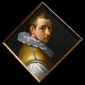 Zelfportret van Cornelis Cornelisz. van Haarlem (1562-1638)