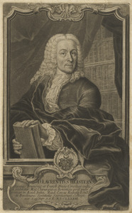 Portret van Laurens Heister (1683-1758)