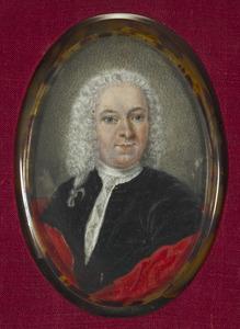 Portret van François Lestevenon (1702-1767)