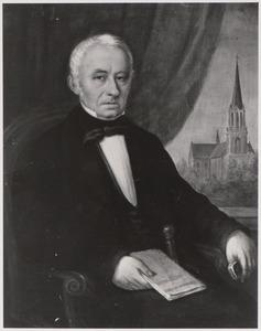 Portret van een man, genaamd Hermanus van Meerwijk (1801-1835)
