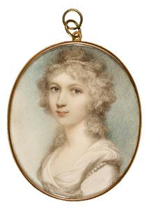 Portret van een vrouw, waarschijnlijk Jacoba Helena van Reede (1767-1839)