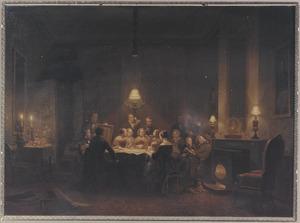 Groepsportret van de familie van Reneke de Marees van Swinderen (1764-1848)