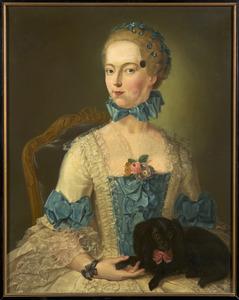 Portret van Charlotte Wilhelmina van Lintelo (1733-1766)