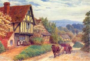 Cropthorne Hill, bij Eavesham