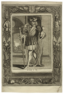 Portret van Dirk VII van Holland ( -1203)