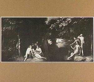 Diana ontdekt de zwangerschap van Callisto (Ovidius, Metamorfoses 2:442-453)