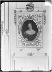 Portret van Maria van Nassau -Zuylestein ( -1765)