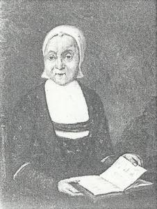 Portret van Lijsbeth Rikkerts (1728-1801)