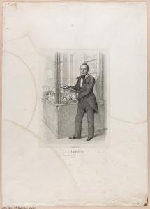 Portret van J. Corn. Emeis (1808-1871)