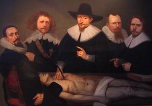 Anatomische les van Dr. Zacheus de Jager