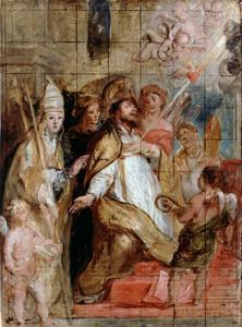St. Augustinus in extase