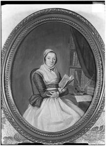 Portret van Clara Feyoena van Sytzama (1729-1807)