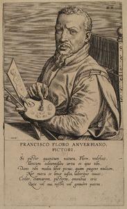Portret van Frans Floris (1519/1520-1570)