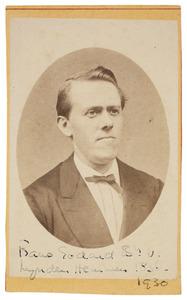 Portret van Frans Godard baron van Lynden (1836-1931)