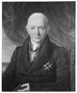 Portret van Frans Godard baron van Lynden (1761-1845)