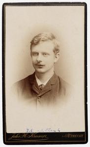 Portret van Frederik Cornelis van de Plassche (1869-1931)