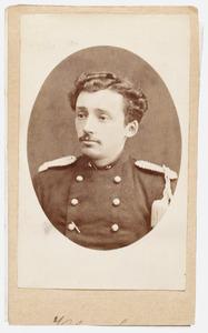 Portret van een persoon genaamd Guillaume Jean Gerard Klerck (1825-1884)