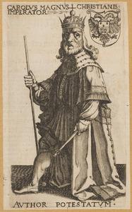 Fantasieportret van Karel de Grote (...-814)