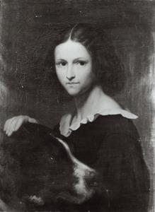 Portret van Cornelia Scheffer (1830-1899)