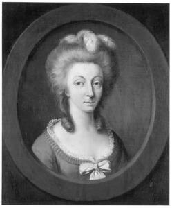 Portret van Juliana Maria Francisca Isabella Johanna Frederica von Syberg -Vorde (1752-1792)