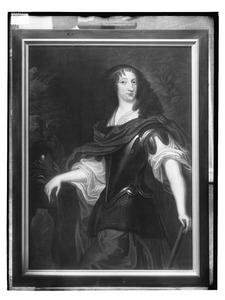 Portret van Christina van Zweden (1626-1689)
