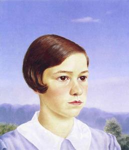 Portret van Jolanthe Brevet