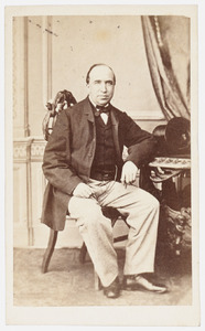 Portret van dhr. Pieter Arnoldus Johan Frederic Noorduyn (1861- )
