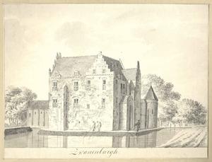 Het slot Zwanenburg bij Gendringen