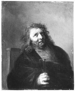 Man met een wijnglas