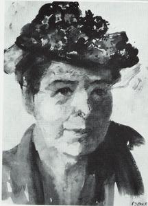 Zelfportret van Betsy Westendorp-Osieck (1880-1968)
