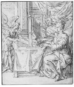 Orgelspelende H. Cecilia