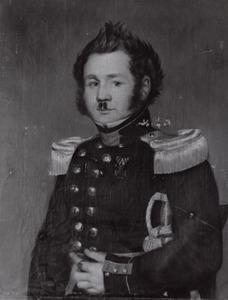 Portret van Johannes Leonardus van Sloterdijck (1802-1836)