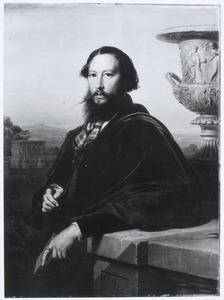 Portret van waarschijnlijk Johannes van Rossum (1809-1873)