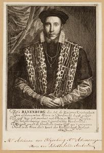 Portret van Adriaan van Blijenburgh (1532-1582)