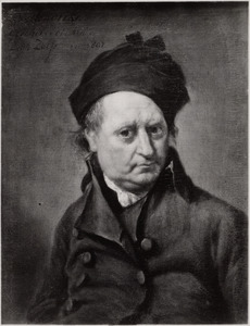 Zelfportret van Wybrand Hendriks (1744-1831)