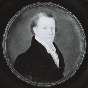 Portret van Gerhard van der Meer (1806-1854)