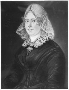Portret van Marchien de Boer (1832-1858)