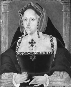 Portret van Catharina van Aragon