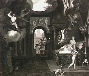 Jupiter en Semele (Ovidius, Metamorphosen III, 287 ff)