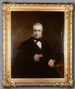 Portret van een man, mogelijk Wilhelm Frowein (1815-1894)
